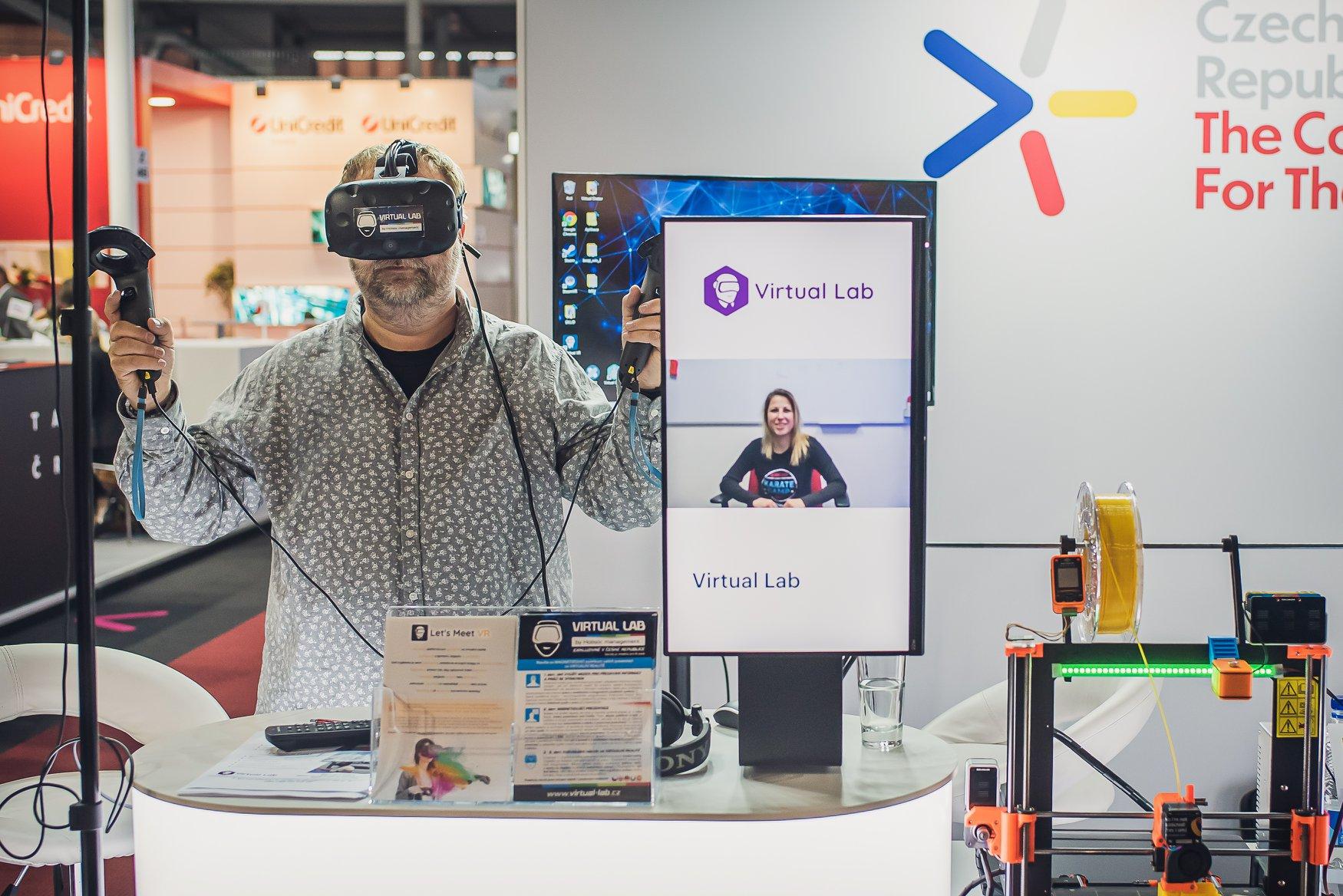ukázka virtual lab brno